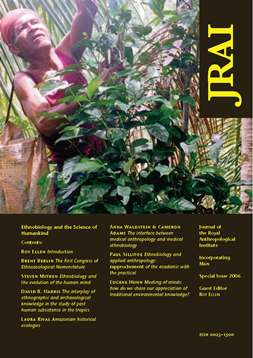 JRAI 1st special issue