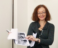 RAI Archivist Sarah Walpole at the RAI Oral History Day © RAI